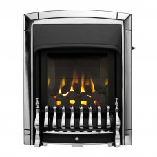 Valor Dream Slimline Homeflame Chrome Gas Fire