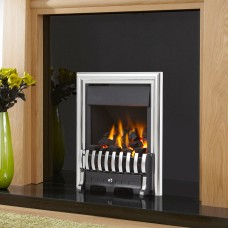 Verine Quasar Plus Silver Open Fronted Gas Fire